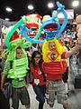 San Diego Comic-Con 2011 - Kermit and Gonza balloon costumes (5991540917).jpg