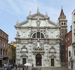San Moisè, Venice - San Moisè facade