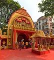 Sanctum - Durga Puja Pandal - Biswamilani Club - Padmapukur Water Treatment Plant Road - Howrah 2015-10-20 6045-6046.tif