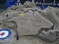 Sand Sculpture at the Isle of Wight Festival in 2008.JPG