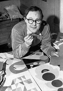 Sandro Key-Åberg omkring 1960