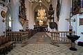 Sankt Nicolai Kirke Koege Denmark interior from altar.jpg