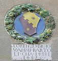 Sansepolcro, palazzo pretorio, stemma bartoli 1488-1489.jpg