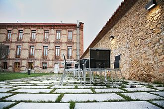 IE University - Patio of the IE University Residence, Segovia, Spain