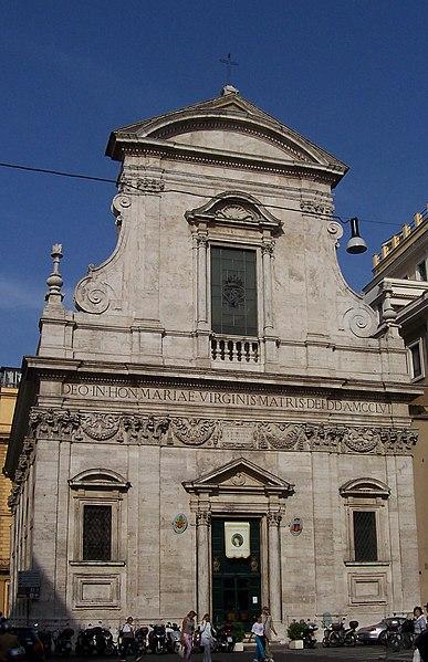File:Santa Maria in Via - facciata - Panairjdde.jpg