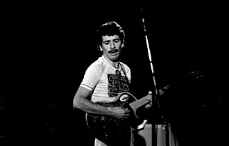 Carlos Santana - Santana performing in Hamburg in November 1973