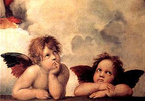 Sistine Madonna - Detail, Sistine Madonna