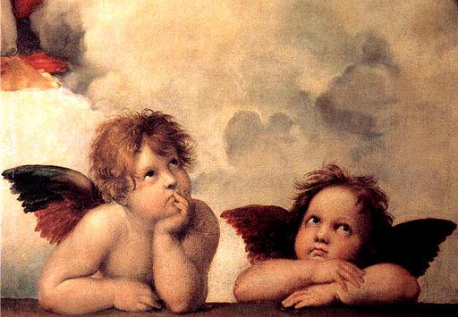 """Sistine Madonna"" by Raphael"