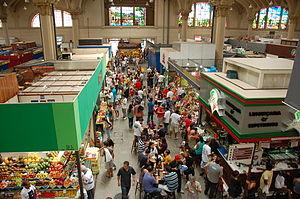 Municipal Market of São Paulo - Interior of the Market