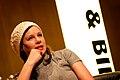 Sara Stridsberg, vinnare av Nordiska radets litteraturpris 2007 pa seminariet, forfattaren i boken, pa bokmassan i Goteborg 2007-09-29 (2).jpg
