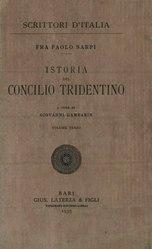 Paolo Sarpi: Istoria del Concilio tridentino