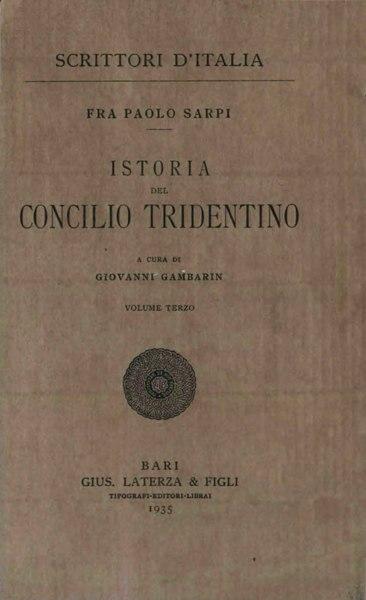 File:Sarpi, Paolo – Istoria del Concilio tridentino, Vol. III, 1935 – BEIC 1917972.djvu