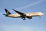 Saudi Arabian Airlines Boeing 777-268-ER HZ-AKB (33822169941).jpg