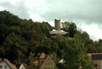 Gemünden am Main - Scherenburg Castle ruins