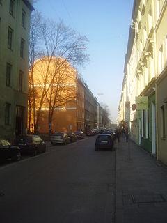 Schleißheimer Straße (Munich) street