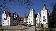 Recent photo of opulent-looking Schloss Boitzenburg, which is an estate rather than a castle