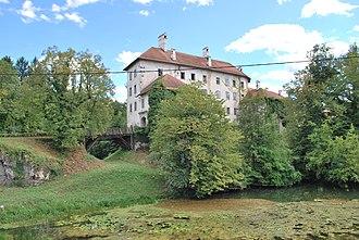 Gradac, Metlika - Image: Schloss Gradac