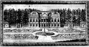 Charlottenburg - Lützenburg Castle, about 1700