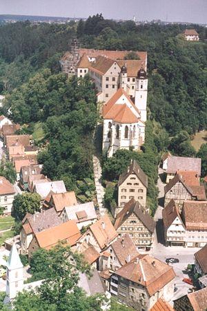 Haigerloch - Haigerloch castle and castle church