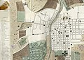 Schmidtmeyer- Aglio, Agostino - Plan of city of Santiago, the capital of Chile -ArchVisual.jpg
