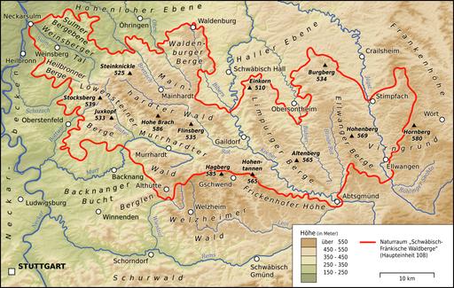 Schwäbisch-Fränkische Waldberge