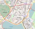 Schwerin Feldstadt Karte OSM.png