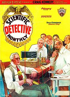 <i>Scientific Detective Monthly</i> US pulp science fiction magazine