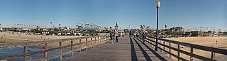 Seal Beach, California - A pier in Seal Beach