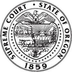 State v. Henry - Image: Seal of the Supreme Court of Oregon