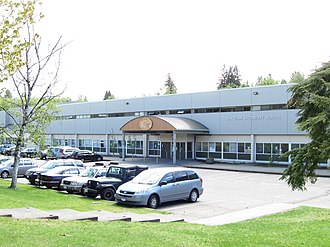 Seaquam Secondary School - Image: Seaquam Secondary (frontal view)