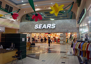 Sears inside Plaza del Norte.