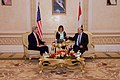Secretary Kerry Sits With Yemeni President Hadi Before Bilateral Meeting in Saudi Arabia (17400237825).jpg