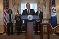 Secretary Pompeo Delivers Remarks During the Swearing-in Ceremony from Mary Elizabeth Taylor (45351810345).jpg