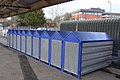 Secure cycle lockers on Newbury Station - geograph.org.uk - 1683553.jpg
