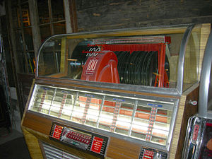 Seeburg Corporation - Seeburg Select-o-matic jukebox, which handles up to 50 records (1949)