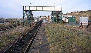 Sellafield railway station - Image: Sellafield railway station in 2005