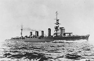 Japanese cruiser <i>Jintsū</i> ship