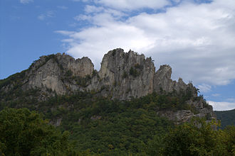 River Knobs (West Virginia) - Seneca Rocks