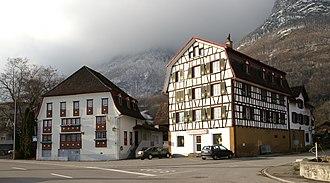 Sennwald - Sennwald village