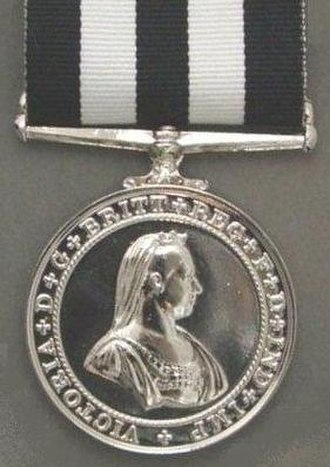 Service Medal of the Order of St John - Image: Service Medal of the Order of St John