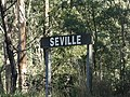 Seville railway station Victoria station sign.jpg