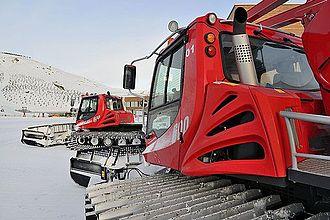 Shahdag Mountain Resort - Snowgrooming machines Shahdag
