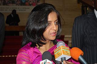 Shamma Jain Indian diplomat