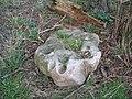 Shaped stone at Norridge Wood - geograph.org.uk - 362374.jpg