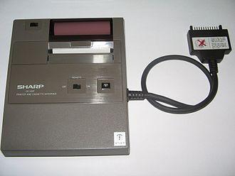 Thermal printing - A thermal printer