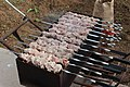 Shashlik on a mangal 0356.jpg