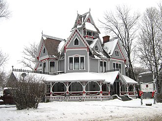 National Register of Historic Places listings in Franklin County, Vermont - Image: Sheldon Boright House