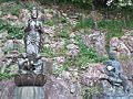 Shin-daibutsu-ji Buddhist Temple - Hakuju-Kan'non and Jibo-Kan'non.jpg