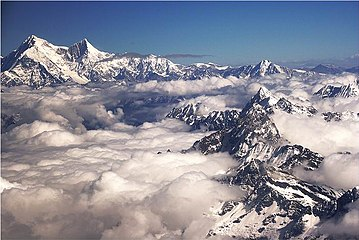 List of highest mountains on Earth - Wikipedia