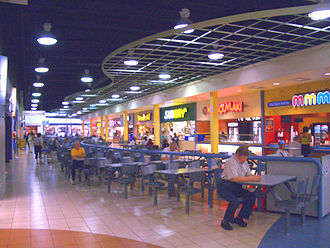 Shoppers World Brampton - The food court